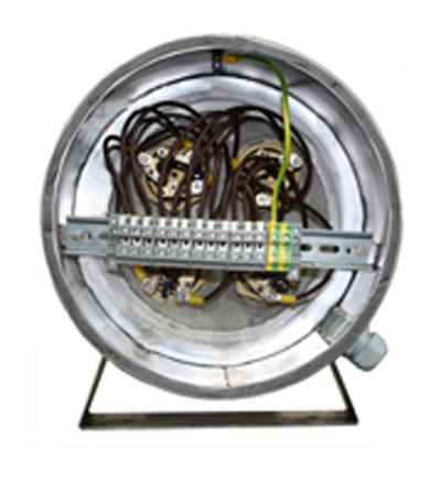 Erhitzer elektrisch durchlauf Einschraubheizkörper Rohrheizkörper Erhitzer Elektrisch Industrie Handwerk Einschraubheizkörper