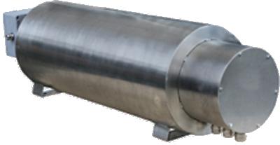 Erhitzer Durchlauf elektrisch Anschlusshaube