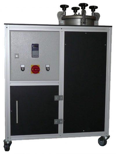 Vakuumkammer Anlage